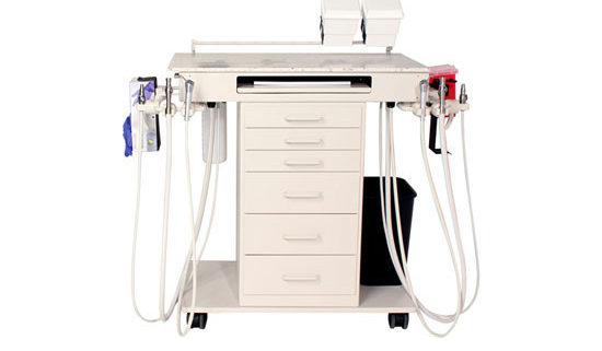 90-1044 Classic Flex Ambidextrous Dental Cart